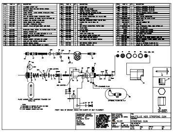 KCN-20 Parts Drawings - Kelly-Creswell
