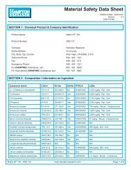 MSDS for HR2-131 - Hampton Research