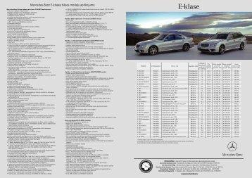 E-klase - Mercedes-Benz Latvija