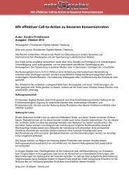 Mit effektiver Call-to-Action zu besseren Konversionraten - Wladimir ...