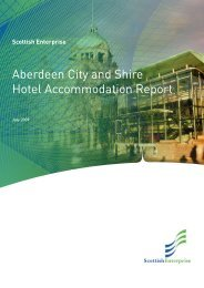 Aberdeen City and Shire Hotel Accommodation Report