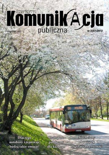 Transport publiczny dla każdego - KZK GOP