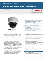 AutoDome Junior HD – Caméra fixe - Bosch Security Systems