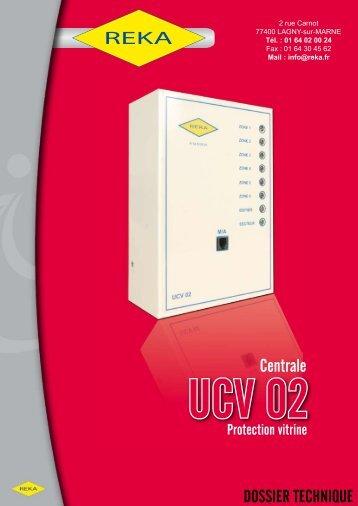 Téléchargez notre fiche produit UCV02