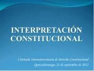 Interpretación Constitucional por Julio César Cordón Aguilar