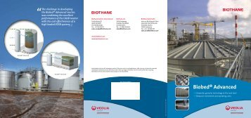 Biobed® Advanced Brochure - Veolia Water Solutions & Technologies