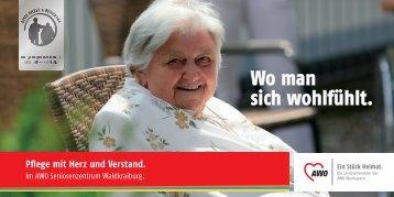 Wo man sich wohlfühlt. - AWO Angebote für Senioren in Oberbayern