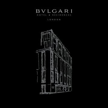 Download Brochure - Bulgari Hotels & Resorts
