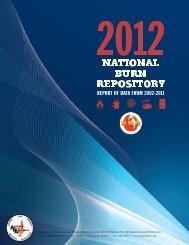 2012 NBR Report - American Burn Association