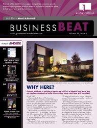 BUSINESSBEAT - Madison Magazine