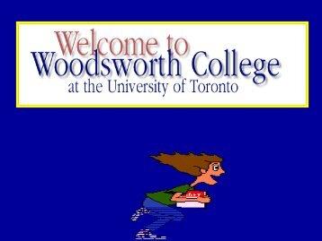 Transfer Credits I - Woodsworth College