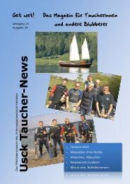 Tauchernews 2012 ebook - Unterwassersportclub Kempten eV