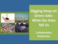 John Melville, Collaborative Economics - Green Choices