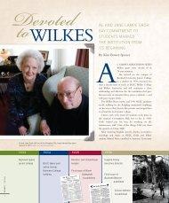 AL AND JANE LAMPE GROH SAY ... - Wilkes University