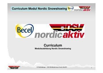 Curriculum Modul Nordic Snowshoeing