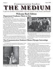 THE MEDIUM - Wilkes University
