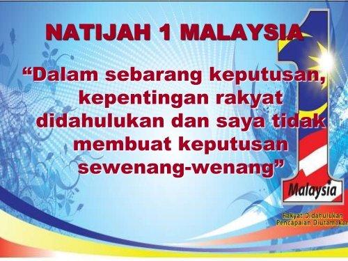 1Malaysia Part3