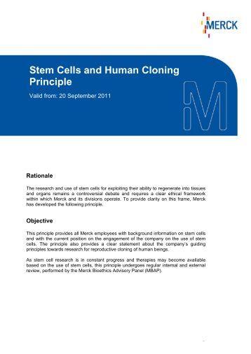 Human cloning persuasive essay