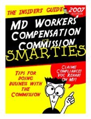 some 10,; My; - Maryland Workers' Compensation Commission