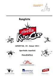 Rivella Kids Cup in Frauenfeld vom 23.01.2011 - LAR Tägerwilen