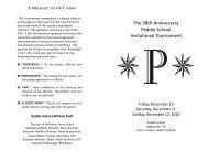 psit booklet - Peddie School