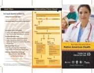 Provider Tool Clinician Flow Chart - Native American Programs