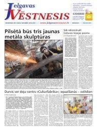 2012.gada 6.septembris Nr.36(272) - Jelgavas Vēstnesis