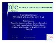 NAAC Advisory Board Meeting 2006.