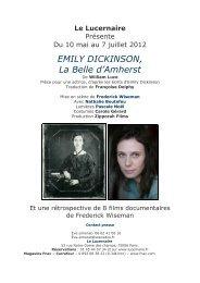 Au crépuscule de sa vie, Emily Dickinson poétesse américaine de la ...
