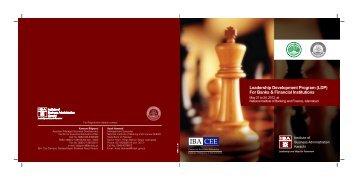 Leadership Development Program (LDP) For Banks & Financial ...