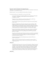 Convenio sobre la abolición del trabajo forzoso Artículo 1 Artículo 2