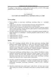 1 Na podlagi 11. člena Zakona o carinski službi (Uradni list RS, št ...