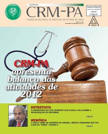 CRM-pA apresenta balanço das atividades de - Conselho Regional ...