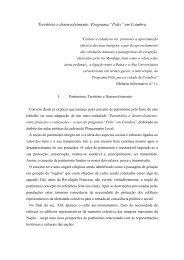 """Programa """"Polis"""" em Coimbra - Associação Portuguesa de Geógrafos"""