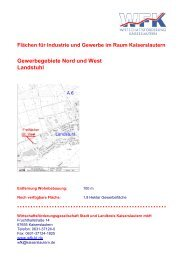 Gewerbegebiete Nord und West Landstuhl