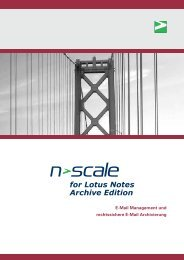 for Lotus Notes Archive Edition - SoIT