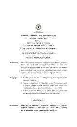 Peraturan Presiden No. 9 Tahun 2005