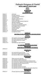 REGULAMENTO CONSELHO DE DISCIPLINA - Associação de ...