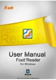 FOXIT READER 5 - Parent Directory