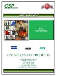 Fall protection - ontario safety products