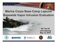Marine Corps Base Camp Lejeune Basewide Vapor Intrusion ...