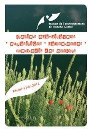 programme-activites - La maison de l'environnement de Franche ...