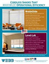 WebbShade Brochure - Institute for Patient-Centered Design