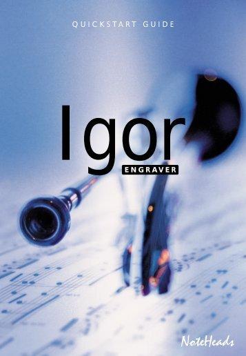 289 KB - Igor Engraver