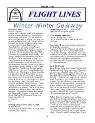 February, 2001 - Spirits of St. Louis R/C Flying Club
