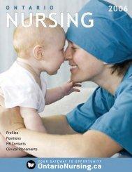 Ontario Nursing 2006 - Cocoa Media