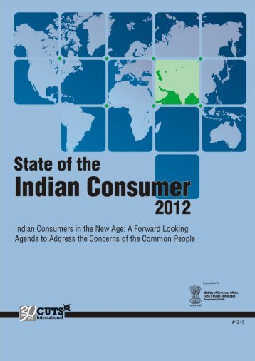 State of the Indian Consumer 2012 - Detailed report