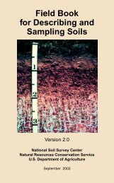 Field Book for Describing and Sampling Soils - FTP Directory Listing