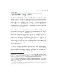 Countering the Evil of Cartels - American Antitrust Institute