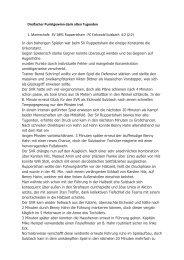 Spielbericht zum Spiel SVR gegen Eichwald - SV-Ruppertshain